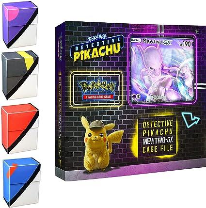 Pokemon Tcg Mewtwo Gx Box Detective Pikachu Special Case File 6