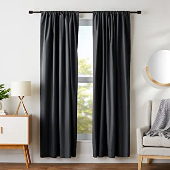 AmazonBasics 52 X 84 Inch Blackout Curtains