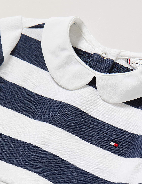Tommy Hilfiger Girls Baby Rugby Stripe Dress L//S