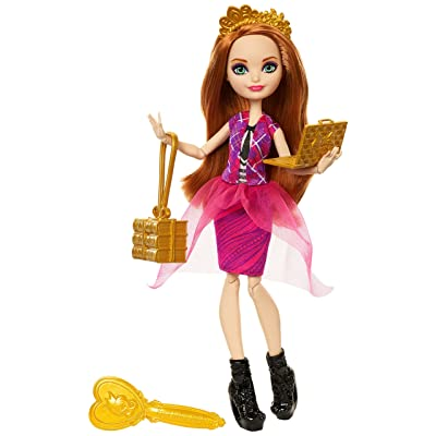Ever After High Back to School Holly O'Hair Doll: Toys & Games