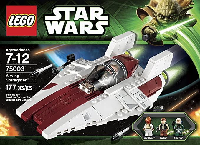 Amazon Lego Star Wars A Wing Starfighter 75003 Toys Games