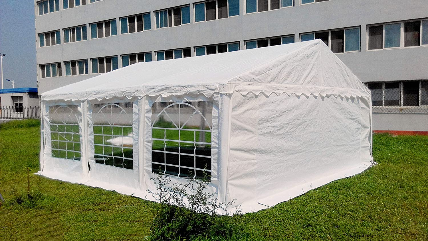 Amazon.com American Phoenix Canopy Tent foot Large White Party Tent Gazebo Canopy Commercial Fair Shelter Car Shelter Wedding Events Party Heavy Duty Tent- ... & Amazon.com: American Phoenix Canopy Tent foot Large White Party ...