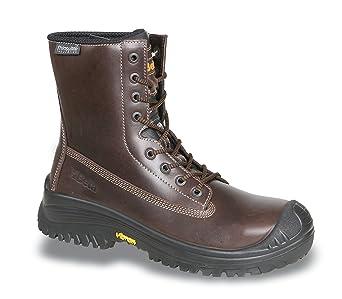 Beta 7295tnv – Zapatos de seguridad de piel schnürstiefel 20345 S3 HRO SRC, marrón,