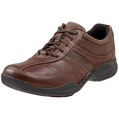 clarks wave mens leather shoes
