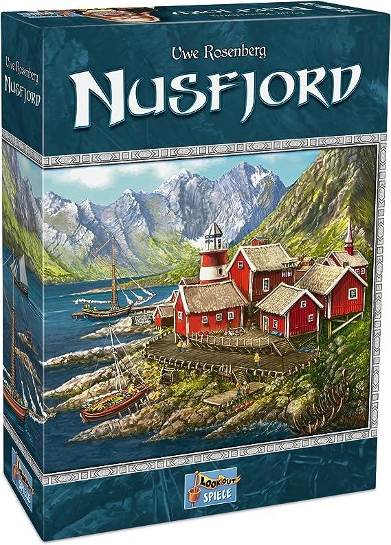 Lookout Games 22160095 - Nusfjord, Juego para Expertos de Uwe ...