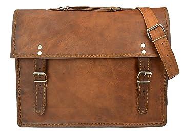 aa3ff8dd1c Gusti Cuir nature cartable sac bandoulière besace cabas sac en cuir  véritable collège sacoche business notebook
