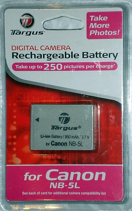 Amazon.com : Targus Digital TGB-NB5L Lion Rechargeable Replacement