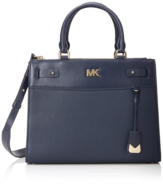 964dcc2d6291 Michael Kors Womens Reagan Lg Satchel Satchel Blue (Admiral): Amazon ...