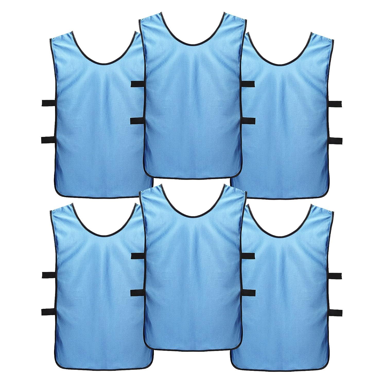 新作人気モデル スポーツジャージーエプロンドレスキッズ、子供用 (Youth、大人として(6パック) – Perfectバスケットボール練習ジャージー、Football JerseyまたはPennies Soccer for for Soccer B07BVCJ1MM M (Youth age 6-11)|Arctic Blue (6) Arctic Blue (6) M (Youth age 6-11), オリジナルギフト贈る酒:a76fd723 --- svecha37.ru