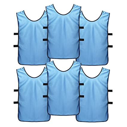 8c7afb057 SportsRepublik Soccer Pinnies | Scrimmage Vests (6-Pack) - Perfect as Kids  Basketball