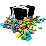 Cuckoo Luckoo Candy Blocks, 2 lb Bag in a BlackTie Box