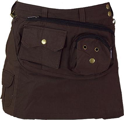 GURU-SHOP, Goa Shorts, Falda Pantalón, Algodón, Pantalones Cortos ...