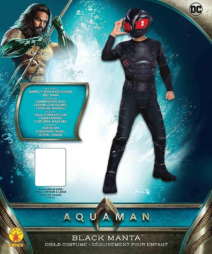Rubies Disfraz Oficial de DC Aquaman de la película para niños ...