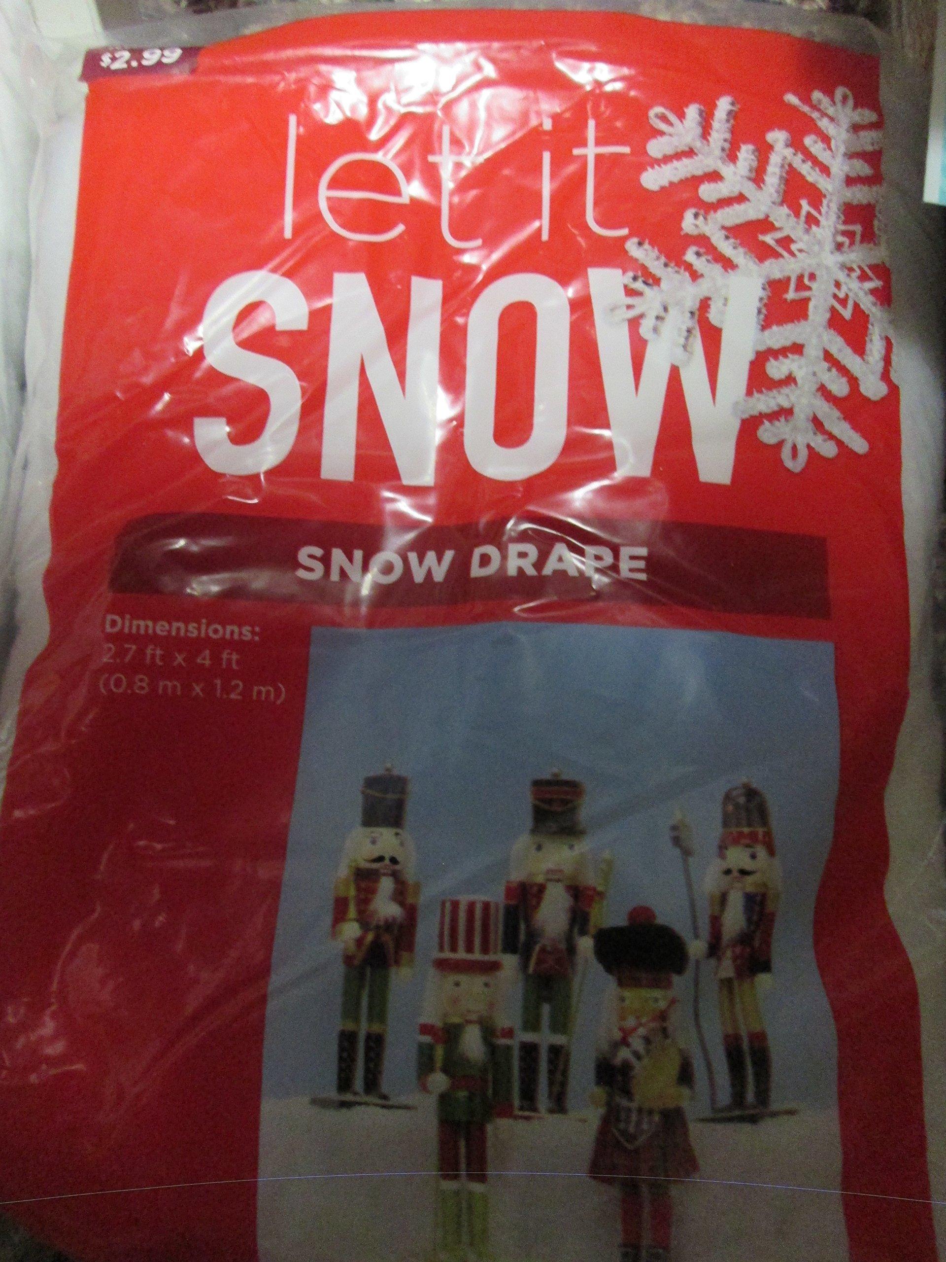 Snow Drape for under tree or village scene