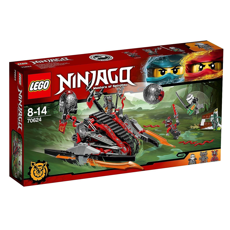 Lego Ninjago - Invasión de los Vermilliones (70624): Amazon ...