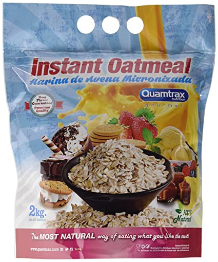 Quamtrax Nutrition Chocolate & Cream Avena Instantánea - 2000 gr