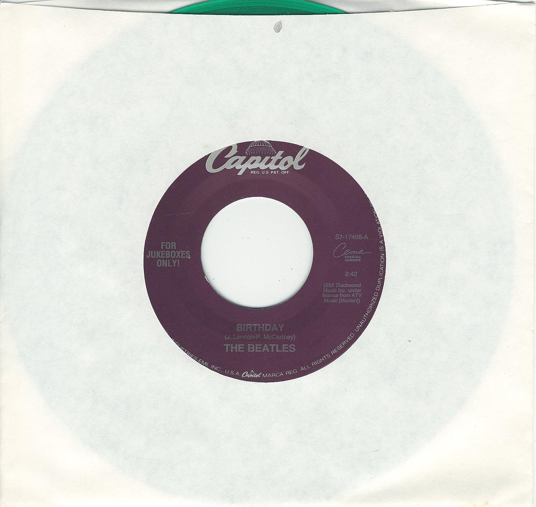 BEATLES taxman birthday 45 rpm single Amazon Music