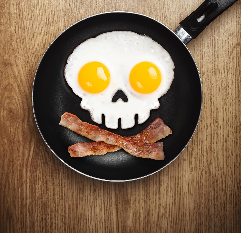 Owl Egg Fryer Funny Side Up Owl Shaped Egg Mold Silicone Novelty Egg Ring