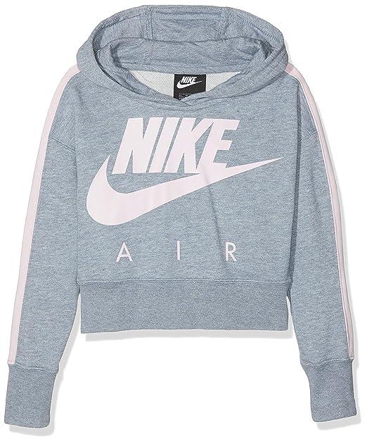 gute Qualität tolle sorten harmonische Farben Nike Mädchen G NSW Crop Pe Air Sweatshirt