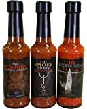 The Chilli Alchemist The Red King  Magnum Opus  The Everlasting Flame chilli sauce box set