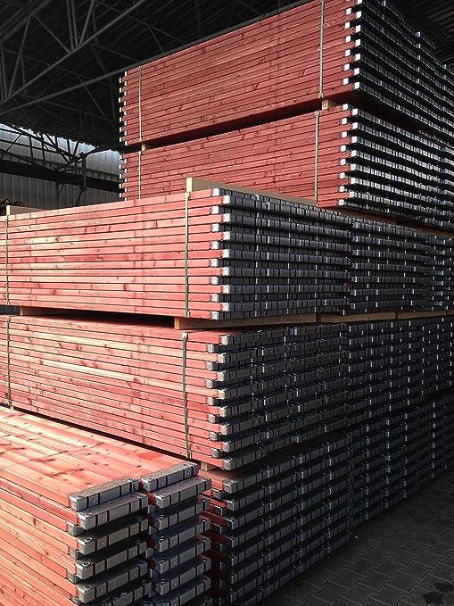 Holzbohle Ger/üstbohle Holzboden Vollholzboden Plettac SL70 2,50m x 0,32 m f/ür Bauger/üst Ger/üst Fassadenger/üst