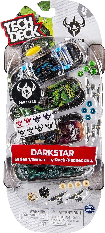 Tech Deck Pack de 4 Patinetes (BIZAK 61923610) , color/modelo surtido