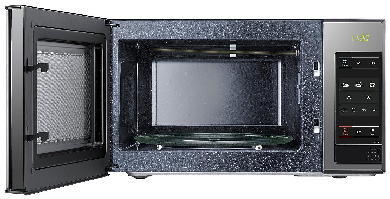 Samsung ME83X/XEC - Microondas sin grill, 800 W, 23 litros, 6 ...