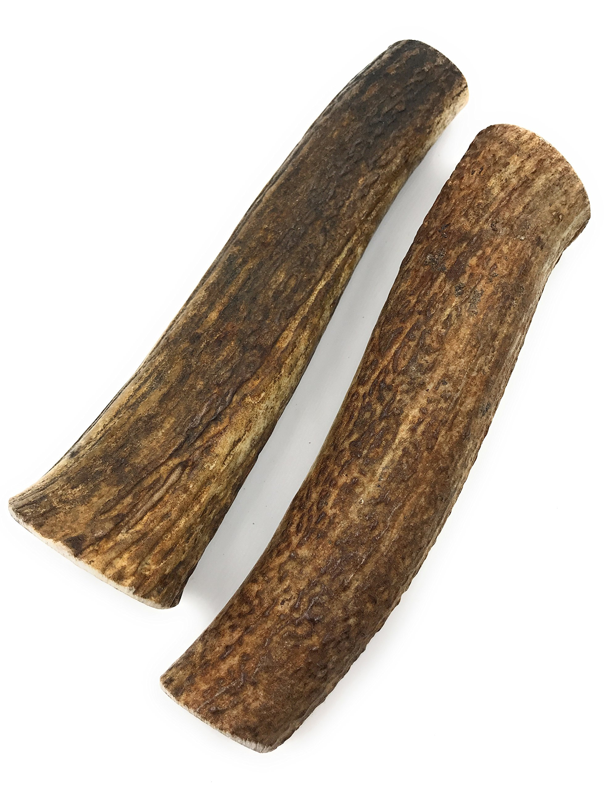 Elk Antlers for Dogs, Grade-A, Premium Antler Chews for Dogs (Large 2-Pack) by Heartland Antlers