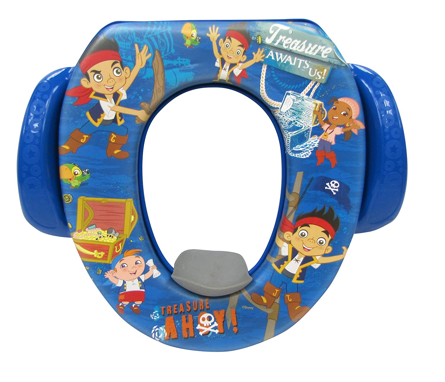 Disney Jake and The Never Land Pirates'Treasure Ahoy' Soft Potty  , Blue GINSEY 57203