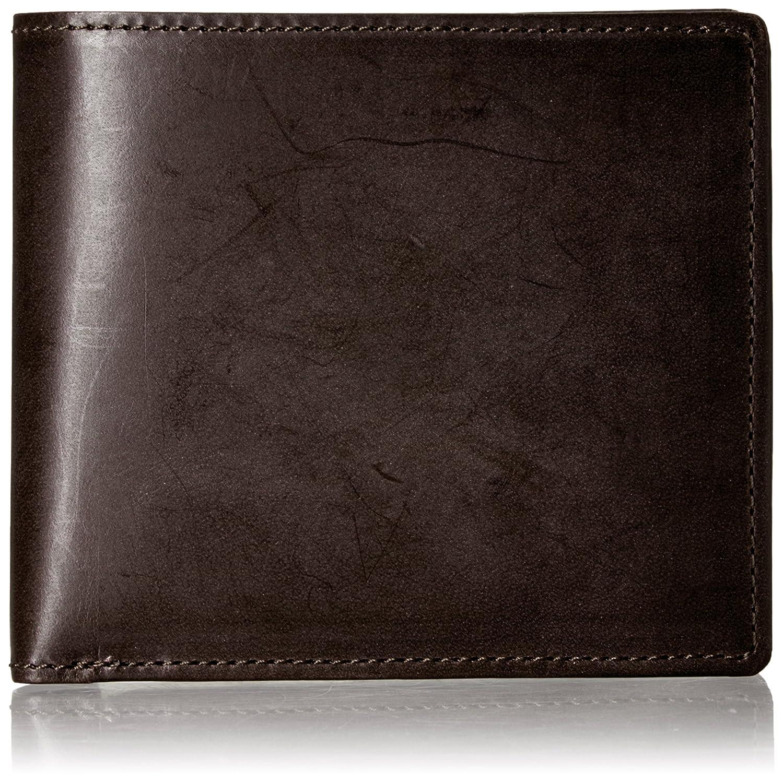 [インディード] 二つ折り財布 【クリーヴ】ブライドルレザー小物 418404 B06X9V5H2Q  DBR/CAM -