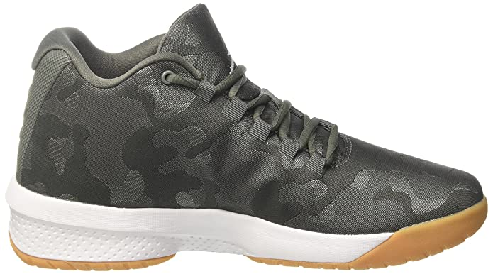 half off 381d4 2c2ec Amazon.com   Nike Men s Air Jordan B Fly River Rock White-Dark Stucco 881444-051  Shoe 10 M US Men   Basketball