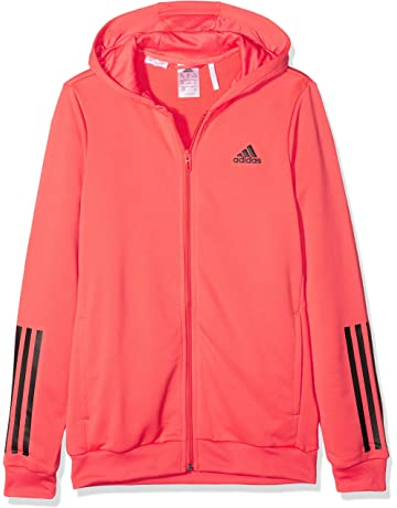 e7a7f9f5af82 adidas Girls   Yg Tr Fz Hd Sweatshirt