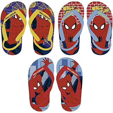1b18a54f3c5c Marvel® Spider Man Official Children Kids Boys Flip Flops Sandals Swimming  Pool Beach Slippers Shoes UK Sizes (18months to 6years) One Pair Despatched