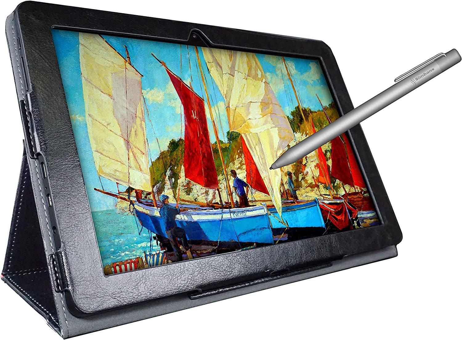 [4 Bonus Items] Simbans PicassoTab 10 Inch Drawing Tablet and Stylus Pen, 2GB, 32GB, Android 9 Pie, Best Gift for Beginner Graphic Artist Boy, Girl, HDMI, USB, GPS, Bluetooth, WiFi - P92: Computers & Accessories