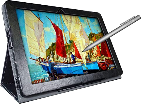Simbans [4 artículos de bonificación] PicassoTab Tableta de Dibujo de 10 Pulgadas y lápiz óptico, 2GB, 32GB, Android 9 Pie, Principiantes, Artista ...