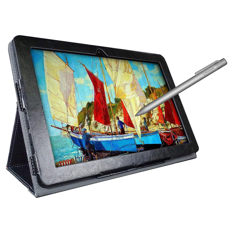 Simbans PicassoTab 10 Pouces Tablet Art Graphique Dessin Tablette avec Stylus Pen [3 Bonus Objets] Android 7 Nougat, 10.1 Pouces IPS, Quad Core, HDMI, 2M+5M Camera, GPS, WiFi, Bluetooth, USB PIC3