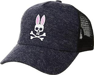 Psycho Bunny Mens Backing Baseball Cap