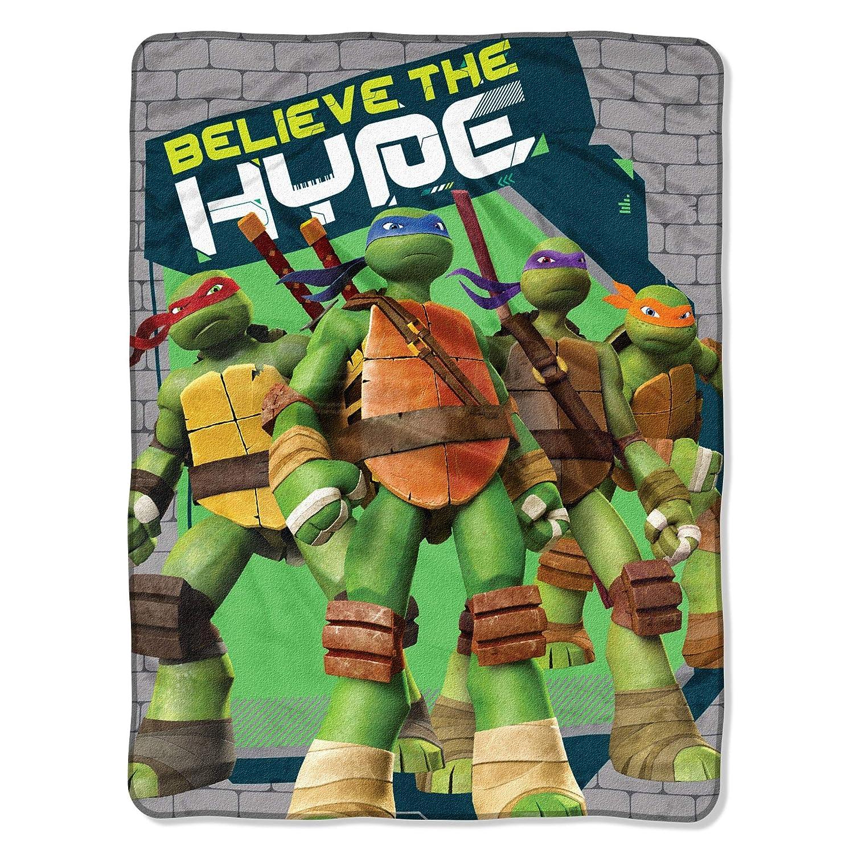 """Franco Teenage Mutant Ninja Turtles Throw (46""""x60"""")"""