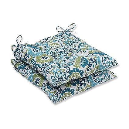 Amazon Com Pillow Perfect Outdoor Indoor Zoe Mallard Wrought Iron