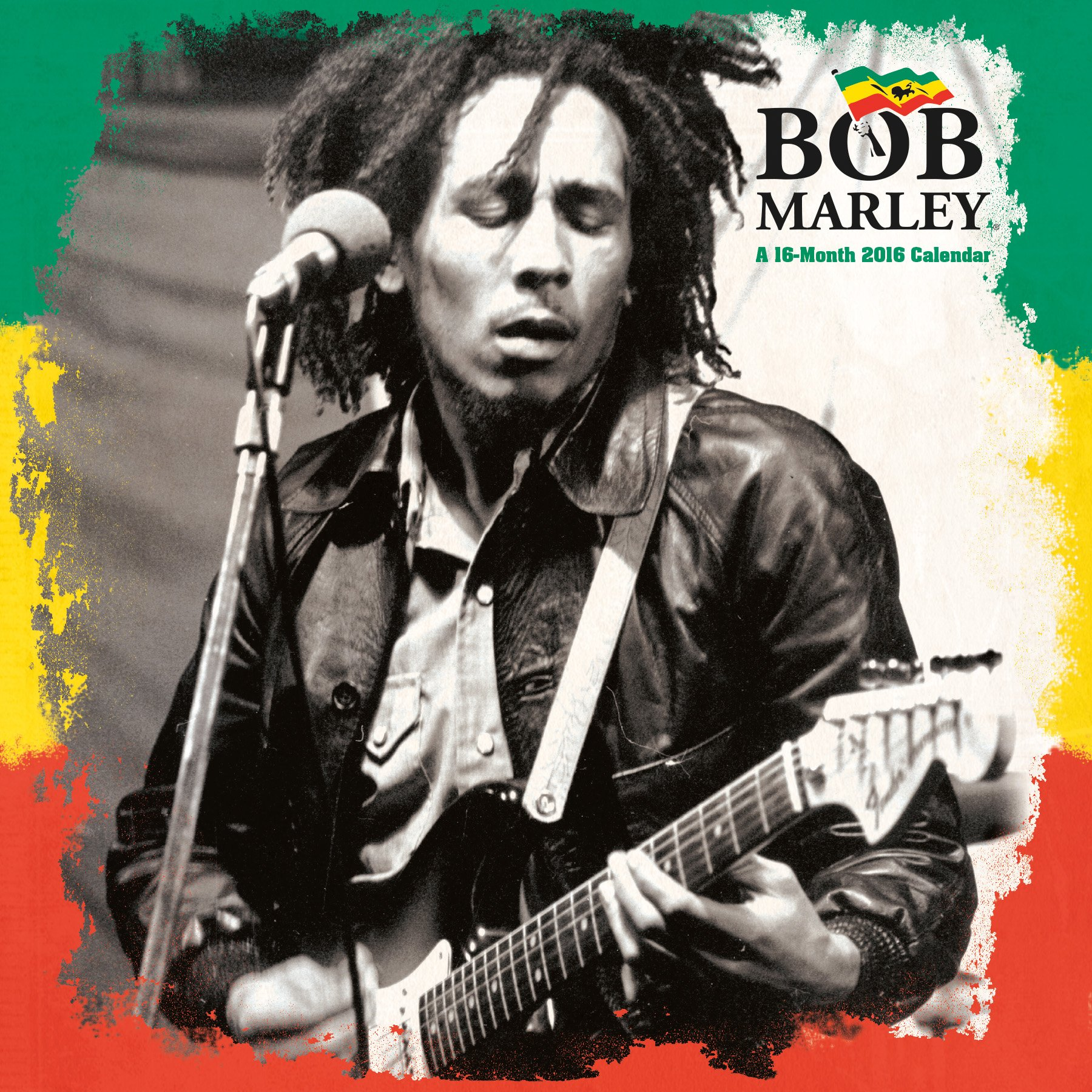 Bob Marley 2016 Wall Calendar Trends International 9781438840512