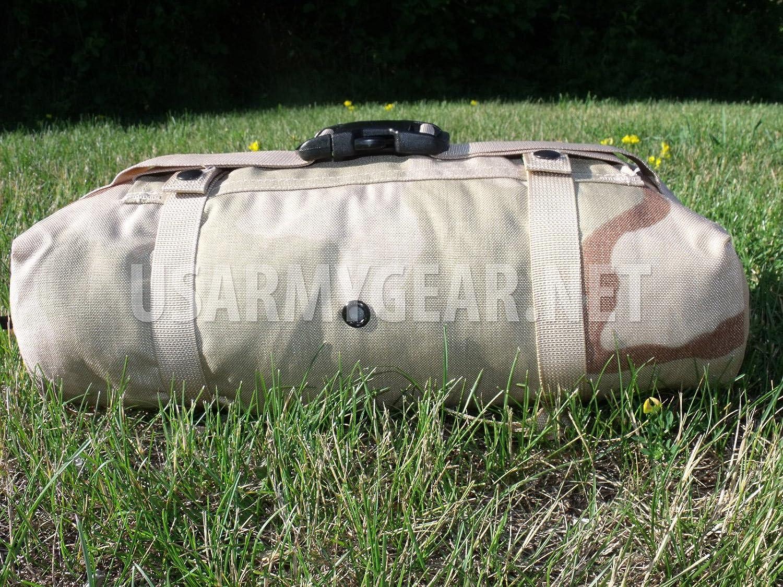 New US Army Military Genuine Issue GI Surplus Molle II Waist Butt Hip Fanny Training Field Pack Bag Desert 3C Camo Black buckle