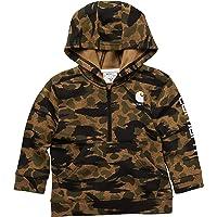 Carhartt Boys' Knit Long Sleeve Hood Zipneck Sweatshirt