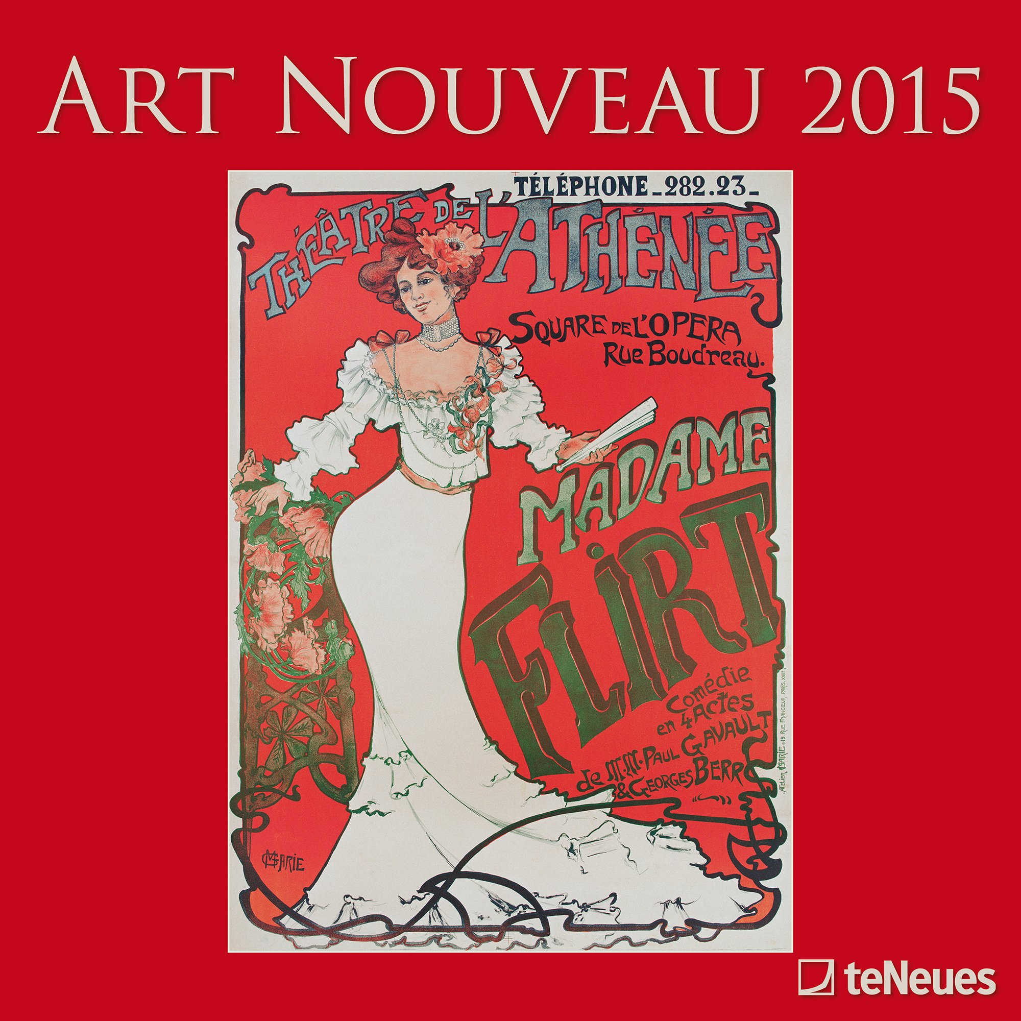 Download 2015 Art Nouveau Wall Calendar ebook