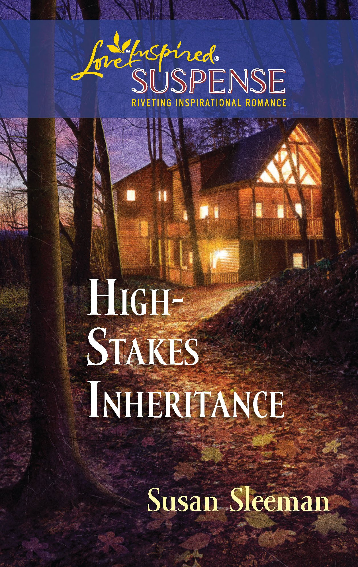 High-Stakes Inheritance (Love Inspired Suspense) ePub fb2 book