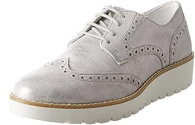 Damen DBN 11397 Sneaker, Grau (Taupe 11), 36 EU Igi & Co