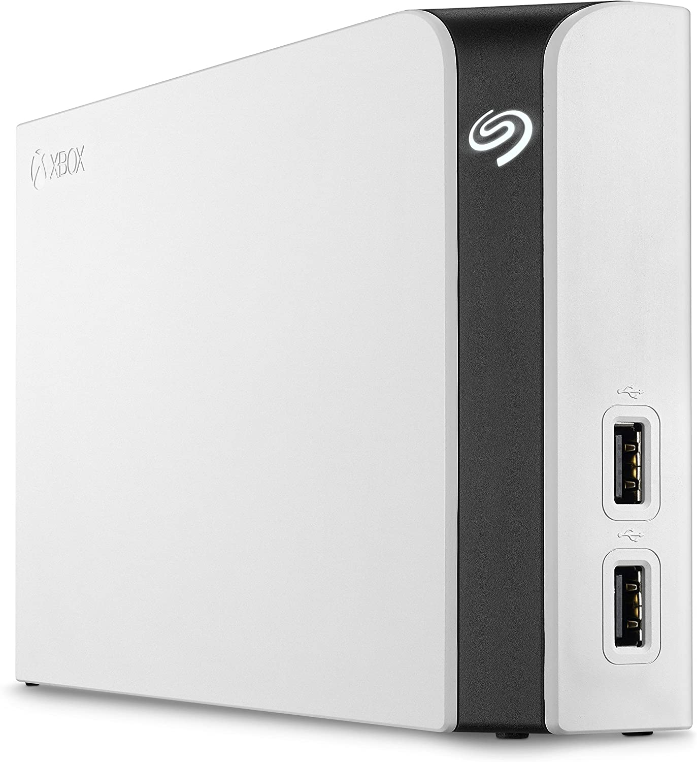 Seagate STGG8000400 Game Drive Hub 8TB External Hard Drive Desktop HDD with Dual USB Ports - White, Designed for Xbox One