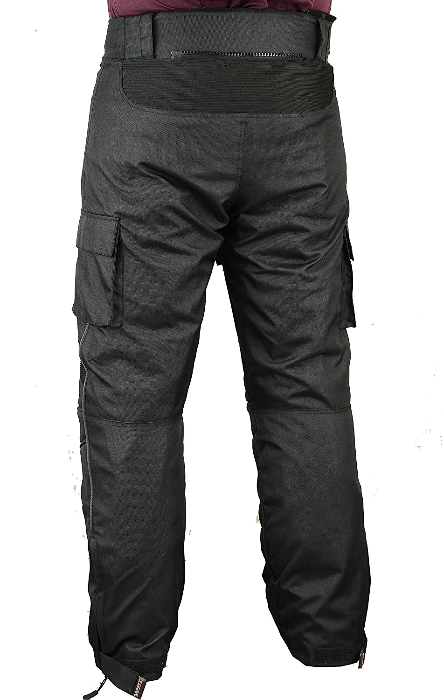 Pantalones de protección para Hombre de Moto Impermeable, W38 L30