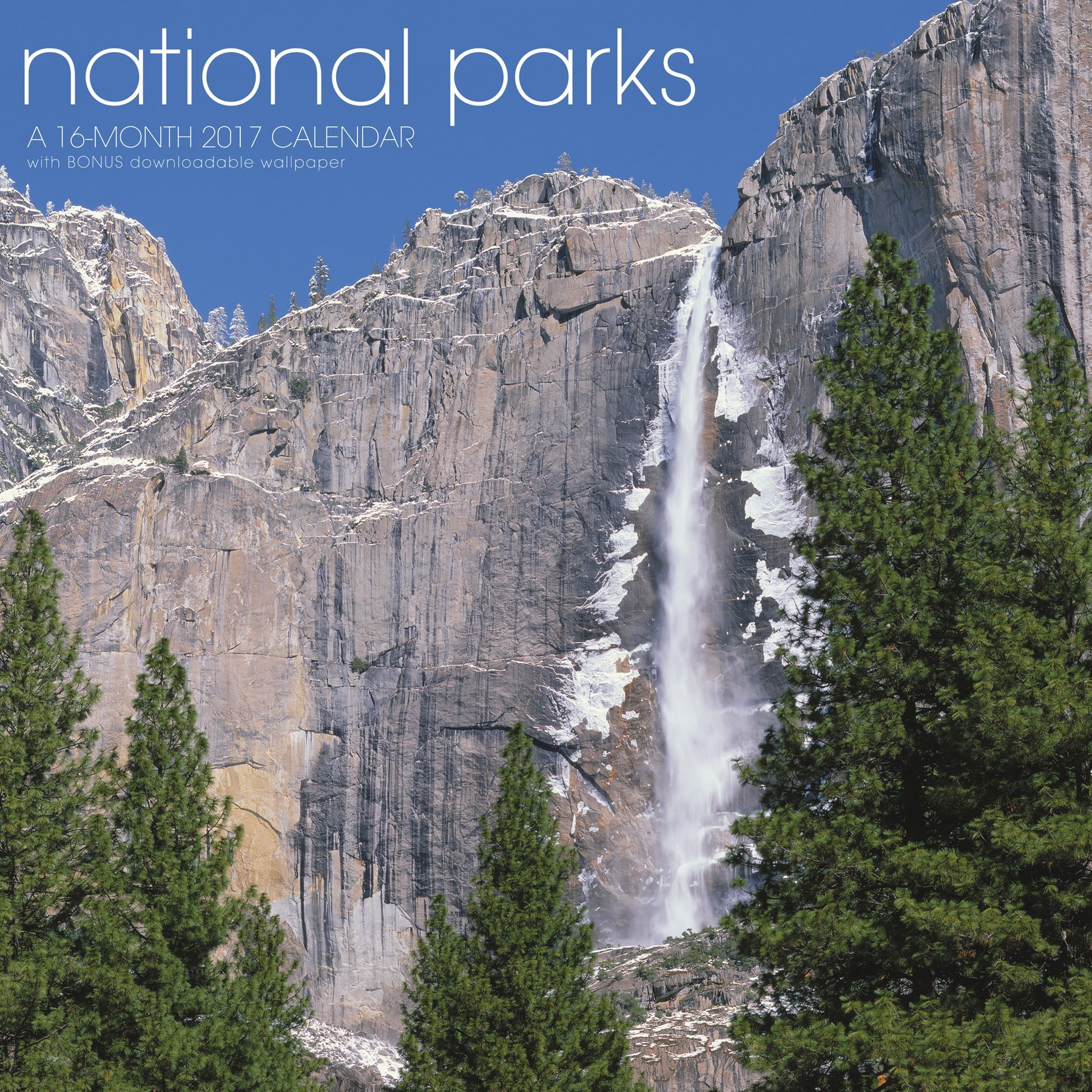 National Parks Wall Calendar Landmark