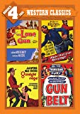 Movies 4 You: Western Classics (The Lone Gun / Ride Out for Revenge / Gunsight Ridge / Gun Belt)