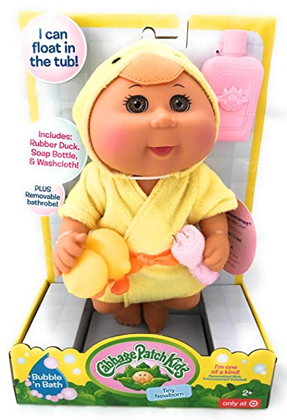 "Cabbage patch kids 14"" animated baby so real doll on qvc youtube."